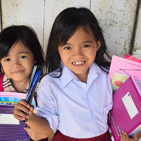 Schoolboeken compassioncadeaus